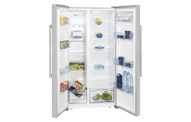 Amerikanischer Kühlschrank Mit Gefrierschrank : Amerikanischer kühlschrank mit gefrierschrank creme insel einheit